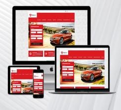 Oto Galeri Web Sitesi (Red)