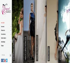 Giyim ve Moda Web Sitesi Teması  (0212)