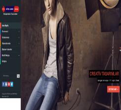 Giyim ve Moda Web Sitesi Teması  (0213)